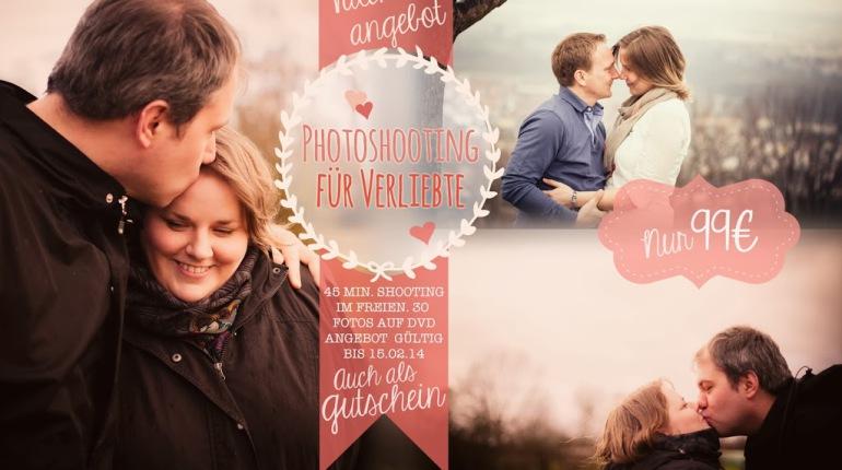 Valentinsangebot: Photoshootings für Verliebte!