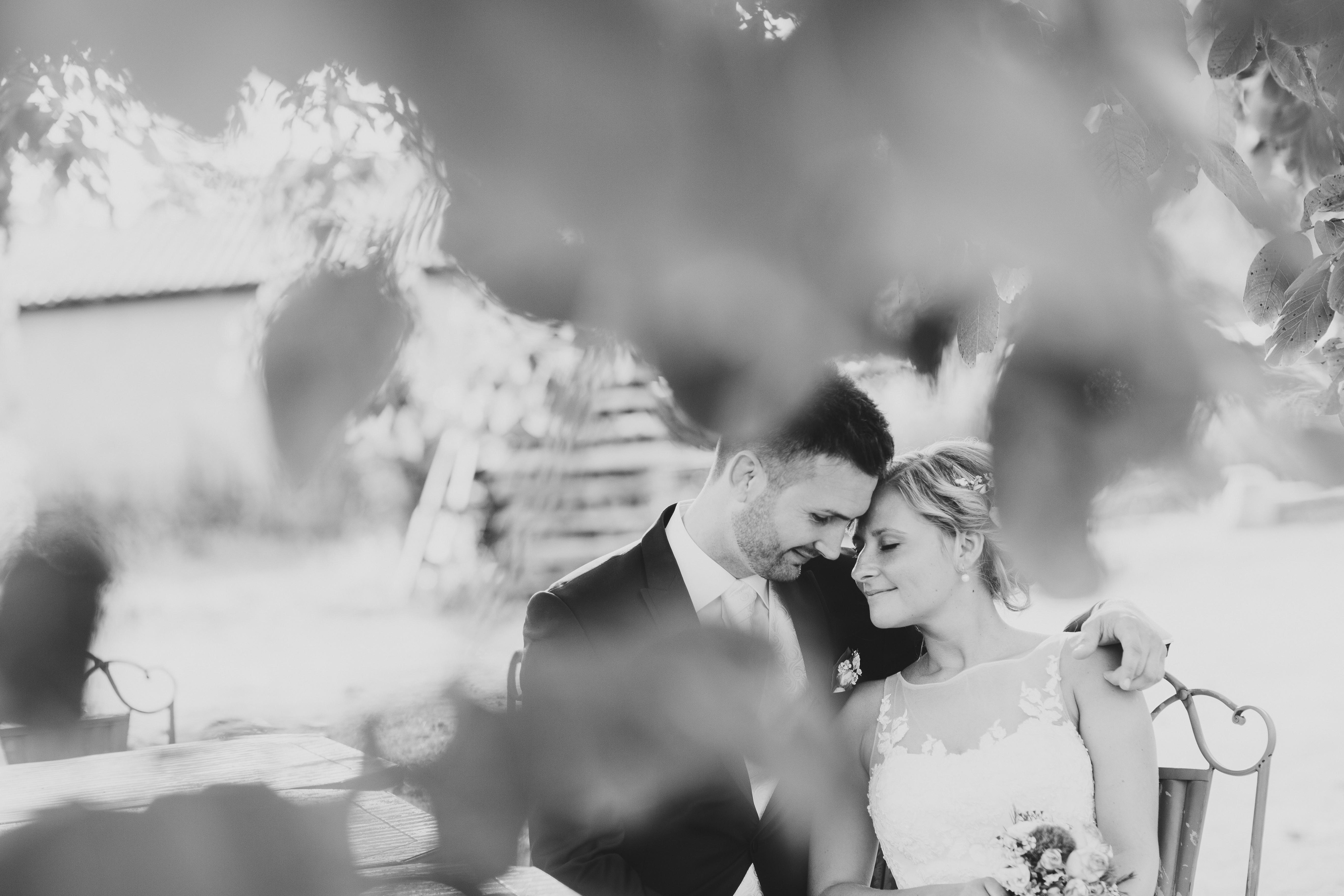 Hochzeitsfotografie Sternenregen