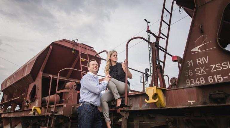 Rebecca & Fred – Engagementshooting in Bruchsal
