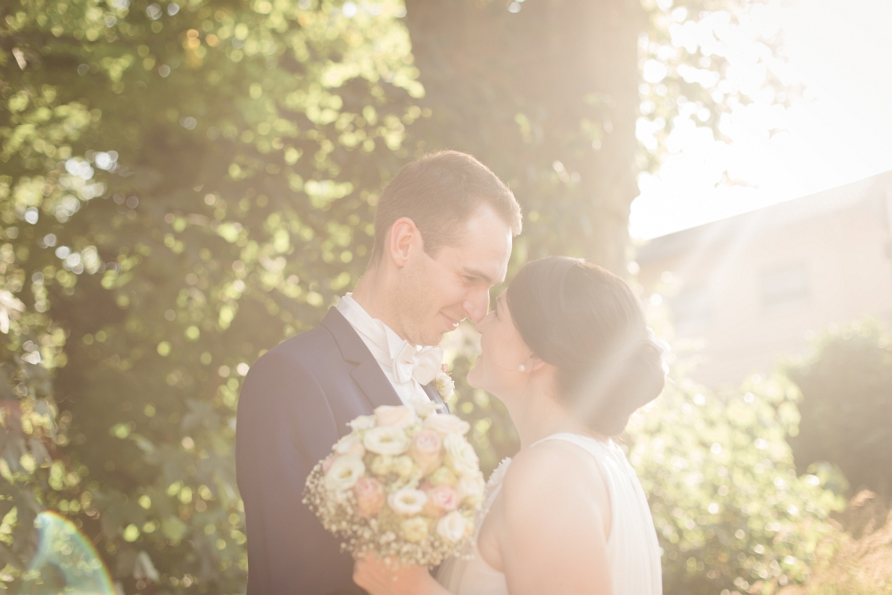 moderne Hochzeitsfotografie bei Bruchsal