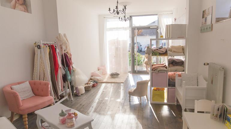 Einblick ins Atelier für Babyfotografie in Stutensee