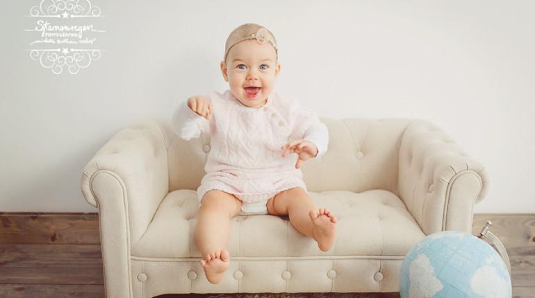 Babyfotoshooting mit Ronja in Stutensee