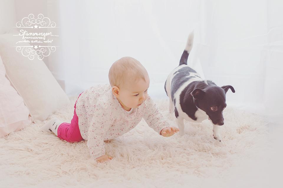 Babyfotografin Sternenregen Photographie