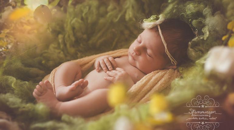 Giulia – 7 Tage – Babyfotografie in Karlsruhe