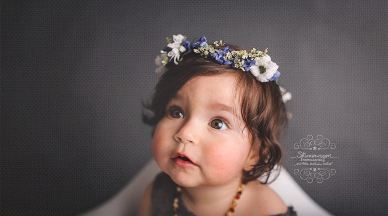 Babyfotos mit 11 Monaten – Shootings im Sitzalter sind so süüüß!