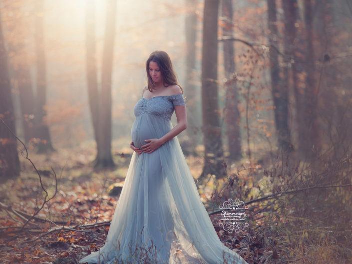 Schwangerschftafotografie Sternenregen