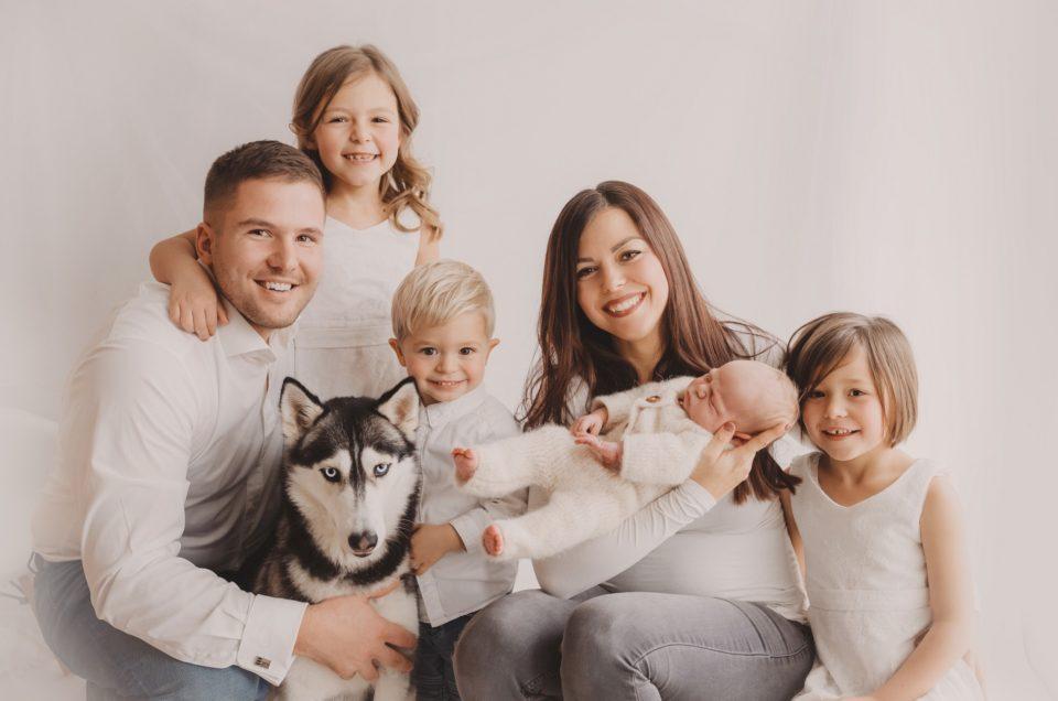 Familienzeit bei Sternenregen Photographie