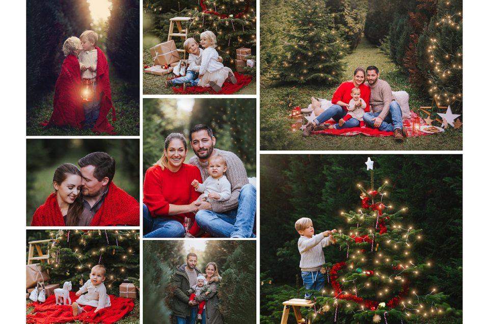 Aktion: Weihnachtsfotoshooting