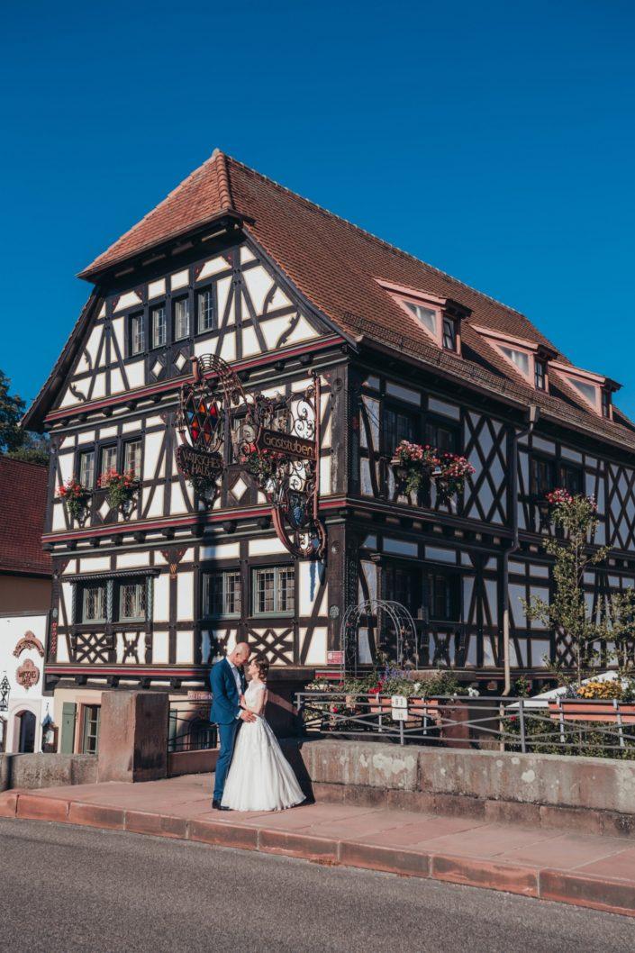 Hochzeitsfotografin Bruchsal Walksches Haus Weingarten