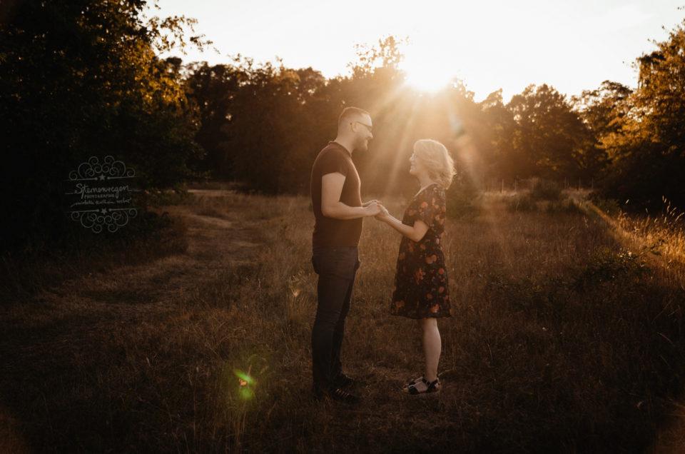 Ein ganz besonderes Paarshooting bei Sternenregen Photographie