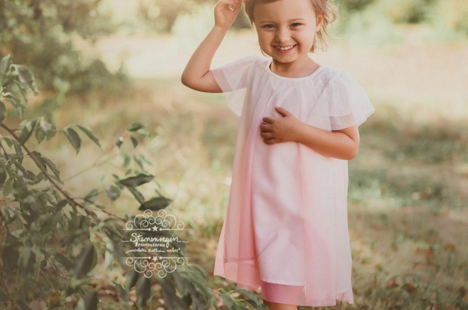 Natürliche Kinderportraits- Kinderfotografie bei Sternenregen Photographie