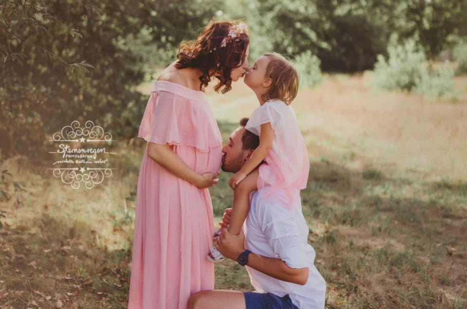 Babybauchshooting -(Vor)freude auf Bildern festhalten