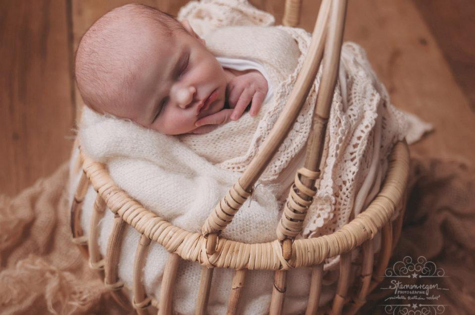 Babyfotografie bei Sternenregen Photographie
